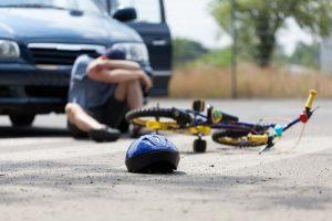 car accident pedestrian
